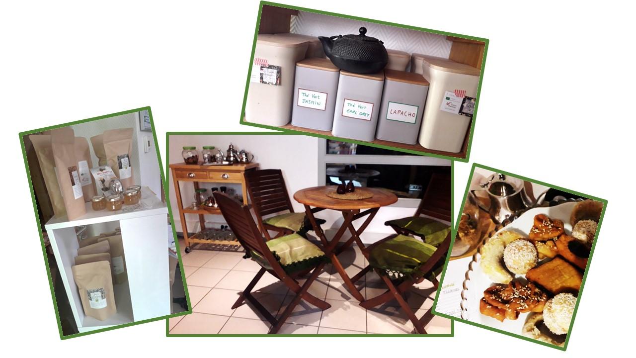 photos salon de thé