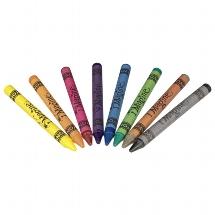 crayons textile
