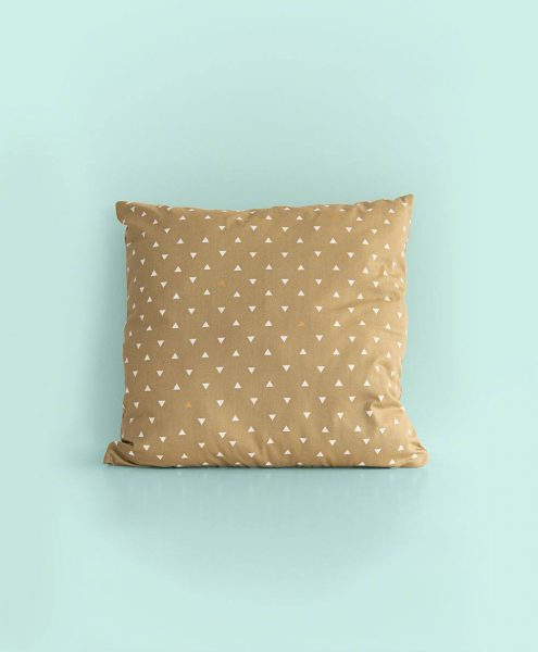 coussin triangle