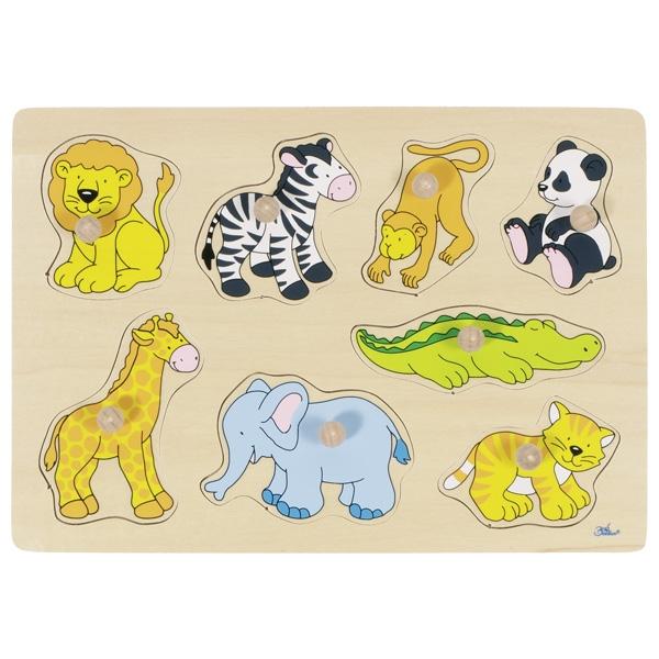 puzzle encastrement animaux