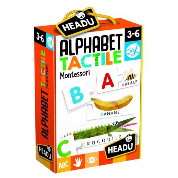 alphabet tactile