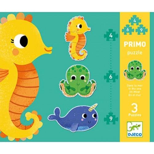puzzle primo mer 4-6-9 pièces