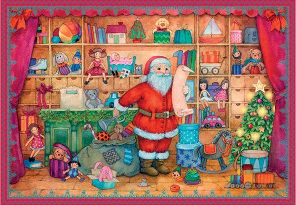 calendrier la liste de Noël