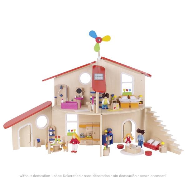maison de poupée écolo (vendue non meublée)