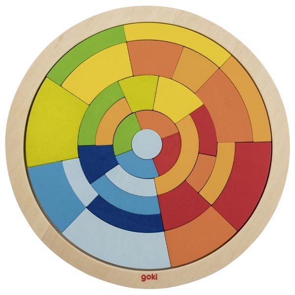 puzzle rond construction