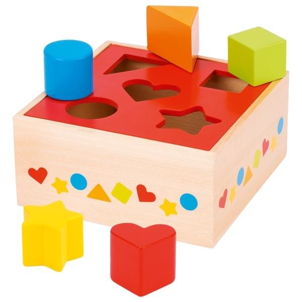 sort box rouge 5 pièces