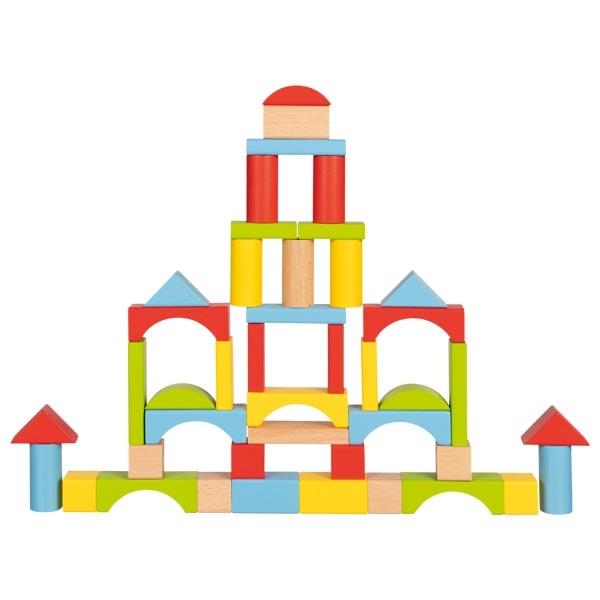 76 briques de construction