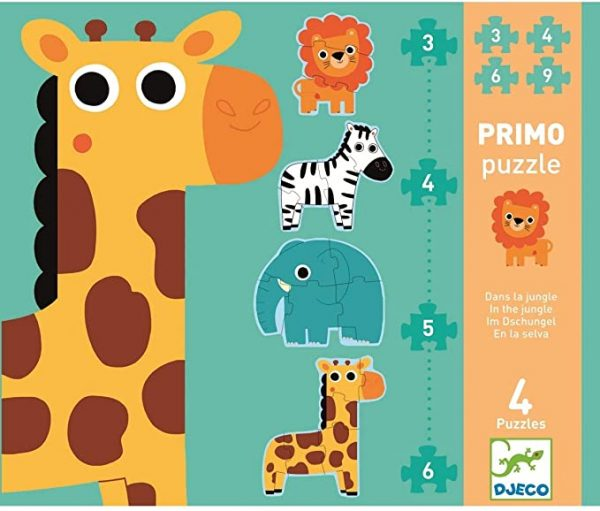 puzzle primo 3-4-5-6 pièces