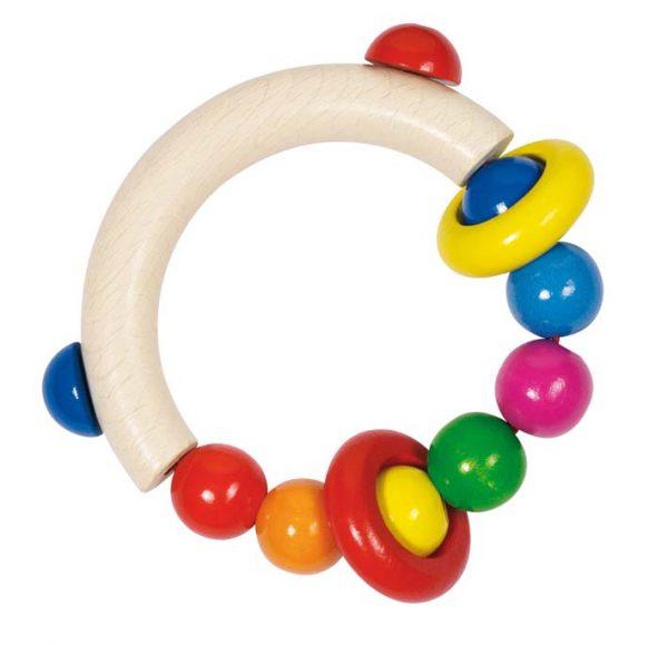 hochet 1/2 cercle