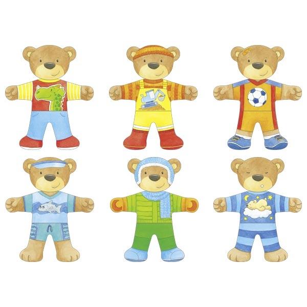 puzzle ours à habiller