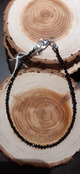 bracelet spinelle argent