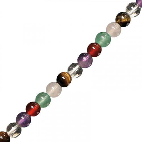 collier mélange de pierres