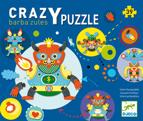 puzzles monstres Barbazules