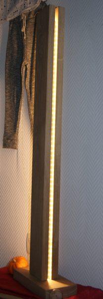 lampe chêne leds