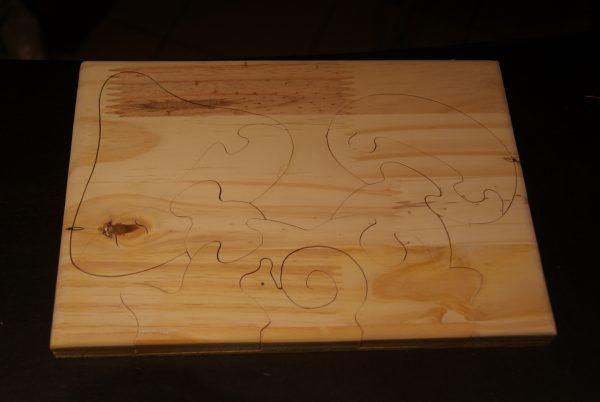 puzzle tableau champignon