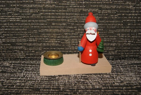 bougeoir Père-Noël et son sapin
