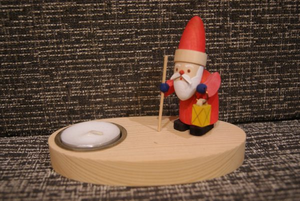 bougeoir Père-Noël et sa lanterne