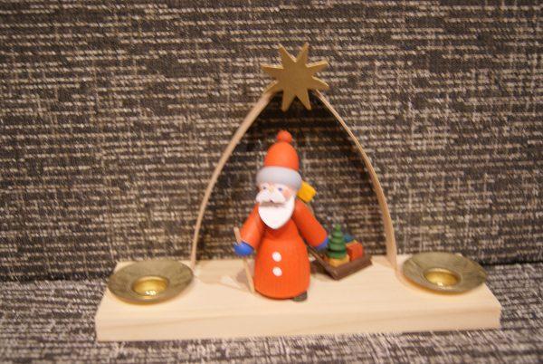 bougeoir Père-Noël et sa luge