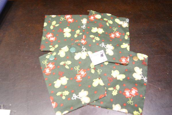 petite pochette cadeau de Noël (à l'unité)