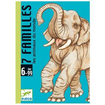 7 familles les animaux du monde