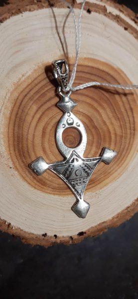pendentif croix du sud argent