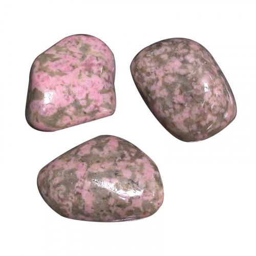 clinozoisite pierre roulée