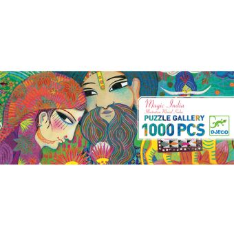 puzzle panoramique India 1000 pièces