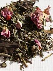 thé vert Quand la Rose rencontre la Menthe