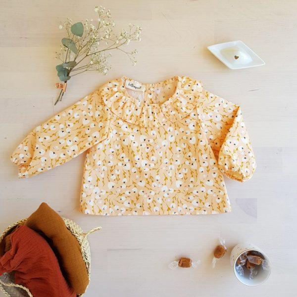blouse papillon