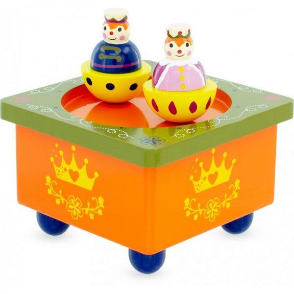 boîte à musique prince et princesse
