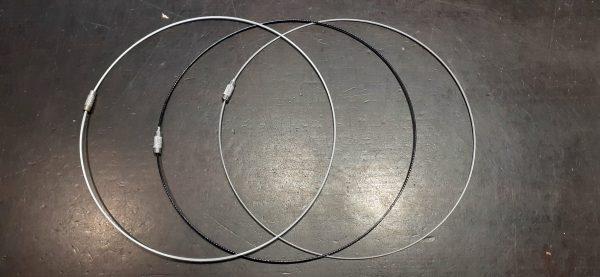 colliers rond en métal