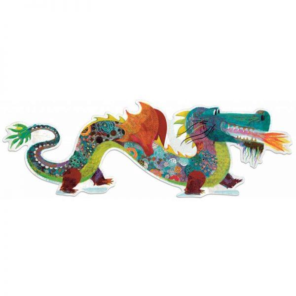 puzzle dragon géant 58 pièces