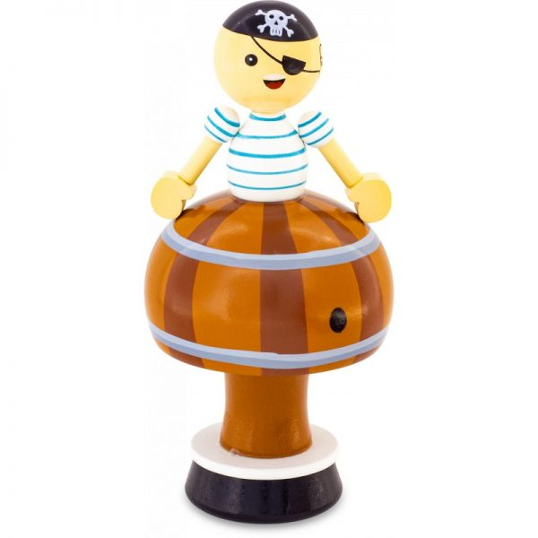 figurine musicale pirate