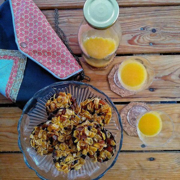 florentin corn flakes / abricot