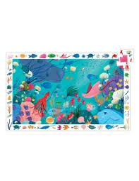 puzzle observation l'océan 24 pièces