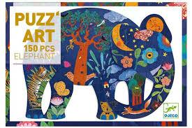 puzzle art éléphant 150 pièces