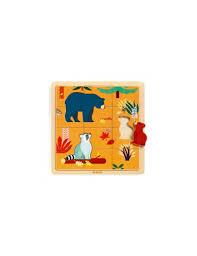 puzzle canada en bois