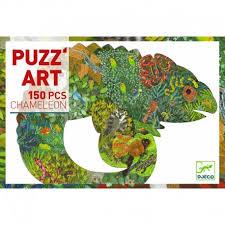 puzzle art caméléon 150 pièces