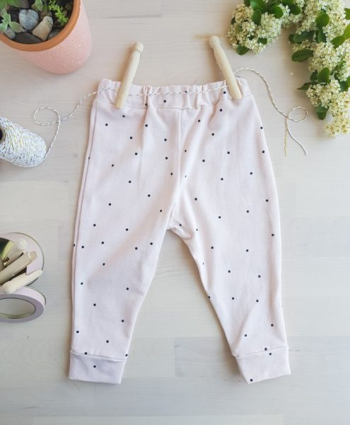 legging rose pois