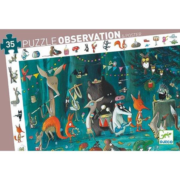 puzzle observation l'orchestre 35pièces