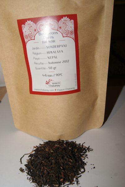 thé noir Bourgeons dorés