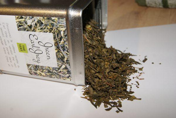 thé vert Green Earl Grey