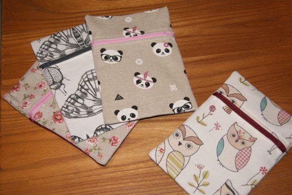 pochette à serviettes (modèles au choix)